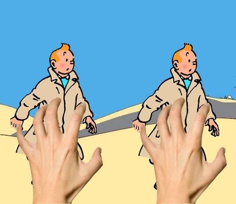 Coçar os Tintins