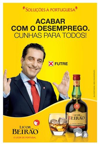 Futre na campanha do Licor Beirão