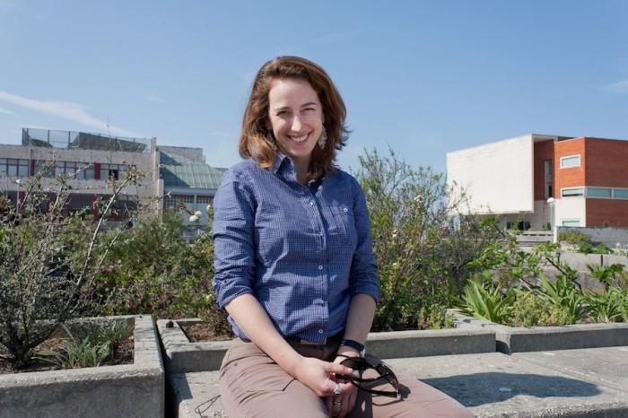 A investigadora Sofia Reboleira