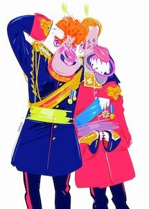 Príncipes Cartoon